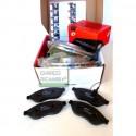 Kit dischi freno e pastiglie freni  Alfa Mito 1400 dal 2008 al 2013 (955)