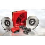 Kit dischi e pastiglie freno anteriore : Fiat - 500 da 2007 a 2013 (312) - 900 63kw 85cv - Benzina