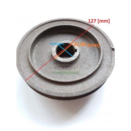 Crankshaft pulley Fiat 1100 R
