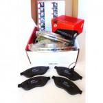 Kit dischi e pastiglie freno anteriore : Fiat - Panda II dal 2003 al 2012 (169) - 1100  40kw 54cv (169) - Benzina