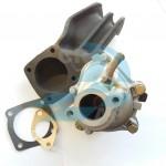 Pompa acqua con coperchio alluminio Lancia Delta 1900 Turbo Diesel 7566185 con coperchio