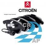 Pastiglie freno anteriore Citroen C3 1400 53kw 72cv Metano