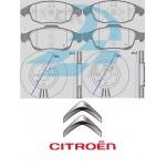 Kit dischi freno e pastiglie freni anteriore : Citroen - C4 Grand Picasso 1800 92kw 125cv GPL benzina
