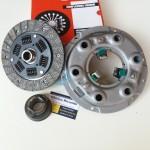 Clutch set Fiat 1100 D R disco frizione 20 cave, complessivo meccanismo e cuscinetto 3 pezzi nuovi omplessivo