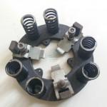 Spingidisco frizione piattello anello con forcelle e molle Fiat 500 D e prima serie