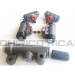 Kit freni Fiat 600 D brake pump cylinders front rear anteriore e posteriore
