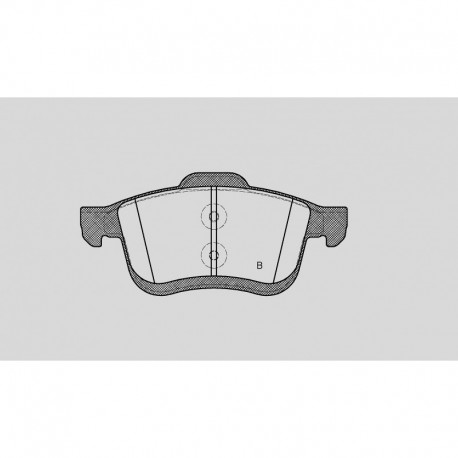 Kit dischi e pastiglie freno anteriore : Fiat - 500 L (199_) - 1400 88kw 120cv T-jet - Benzina