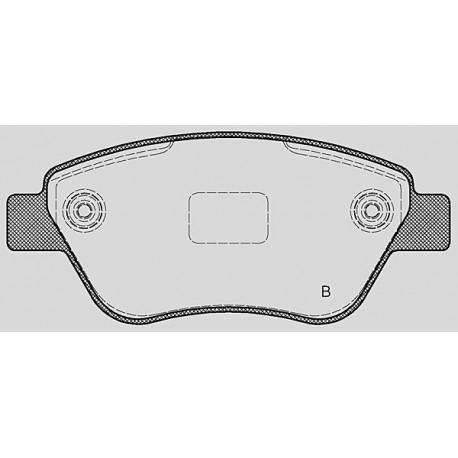 Kit dischi e pastiglie freno anteriore : Fiat - Grande Punto da 2005 a 2012 (199) - 1400 57kw 77cv - Benzina