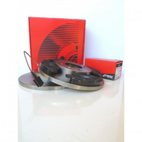 Kit dischi e pastiglie freno anteriore : Lancia - Y dal 1995 al 2003 - (840) - 1400 12V 59kw 80cv  - Benzina