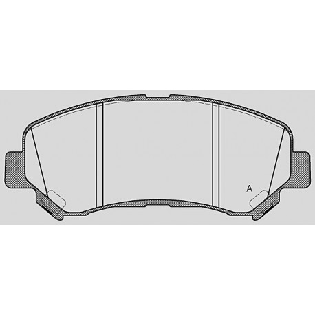 Pastiglie freno anteriore : Nissan - Qashqai dal 2007 a 2014 - 2000 DCI 110kw 150cv - Diesel
