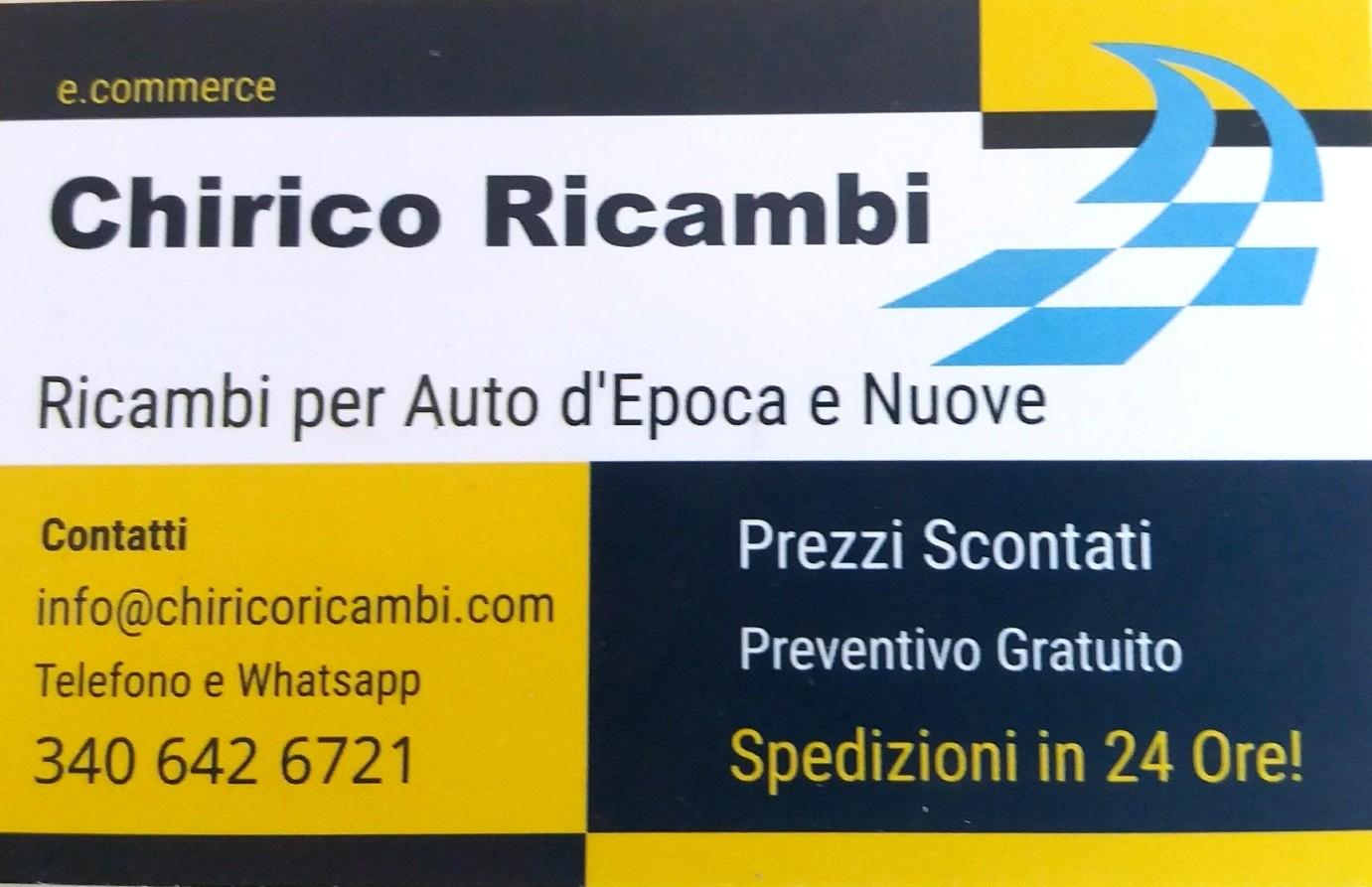 Contatti Chirico Ricambi